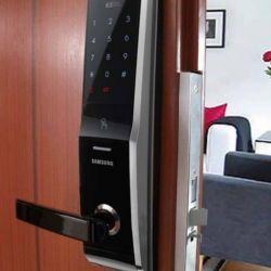 Установка замка Samsung SHS H700